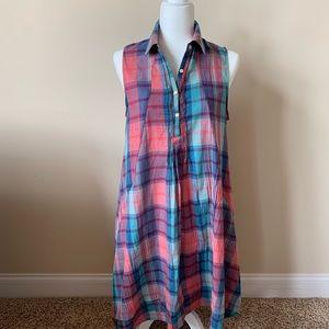 Anthropologie Isabella Sinclair plaid dress #48